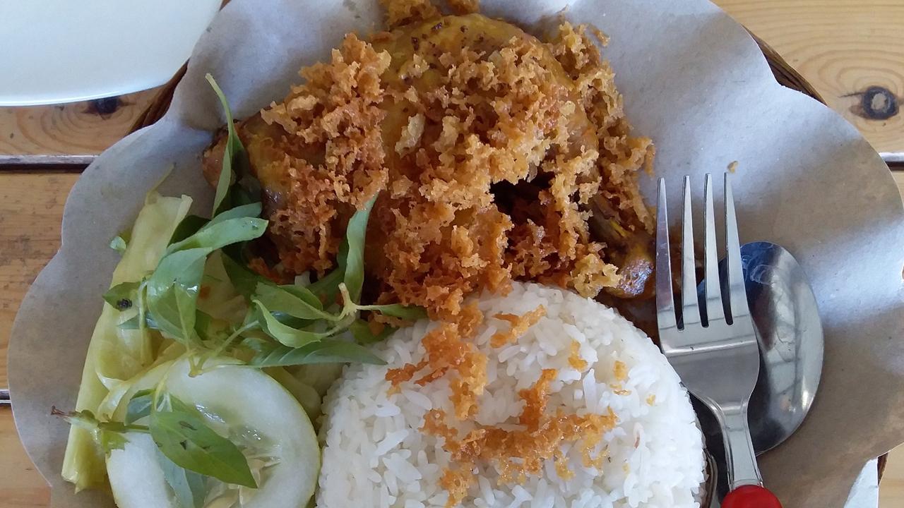 Resep Ayam Goreng Bumbu Ebi