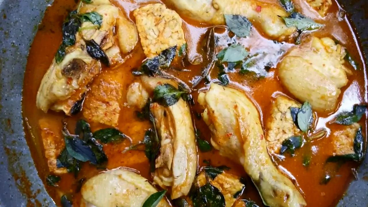 Resep Ayam Kuah Santan Kemangi