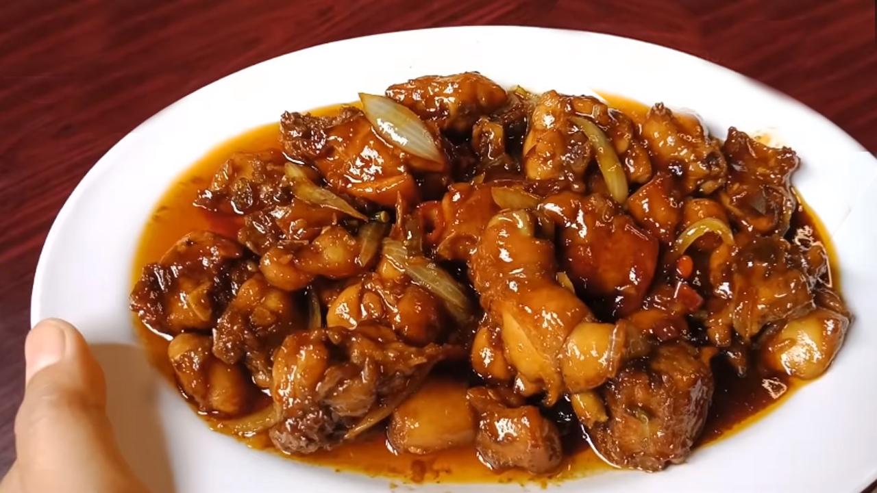 Resep Ayam Goreng Mentega Pedas Manis Gurih