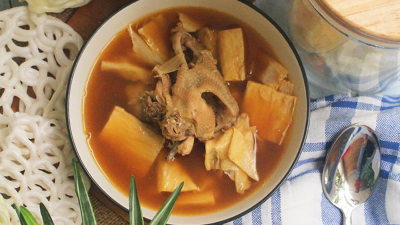 Resep Ayam Masak Kembang Tahu