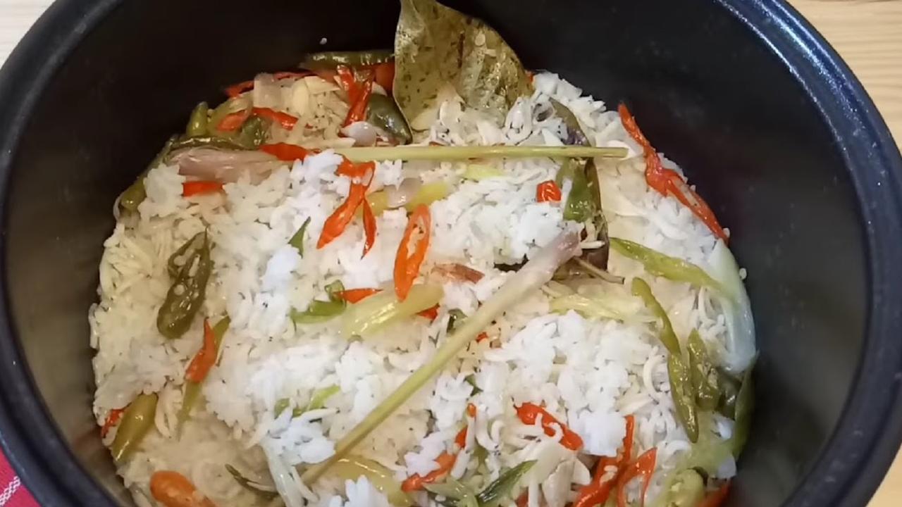 Cara Membuat Nasi Liwet Rice cooker