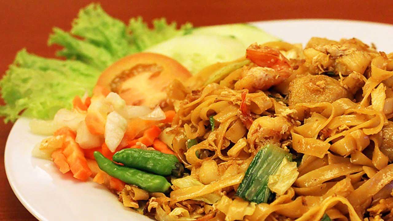 Resep Kwetiau Siram Seafood Kental