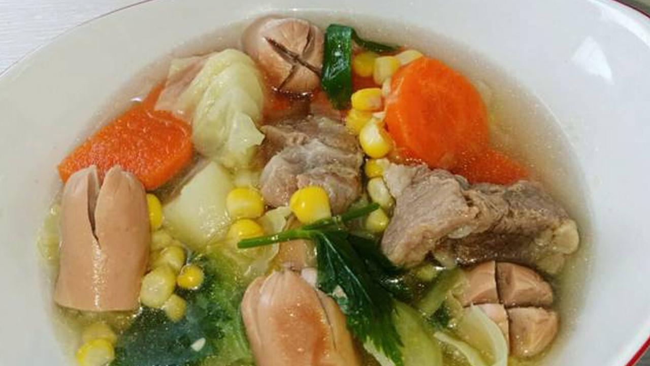 Resep Sup Iga Sosis