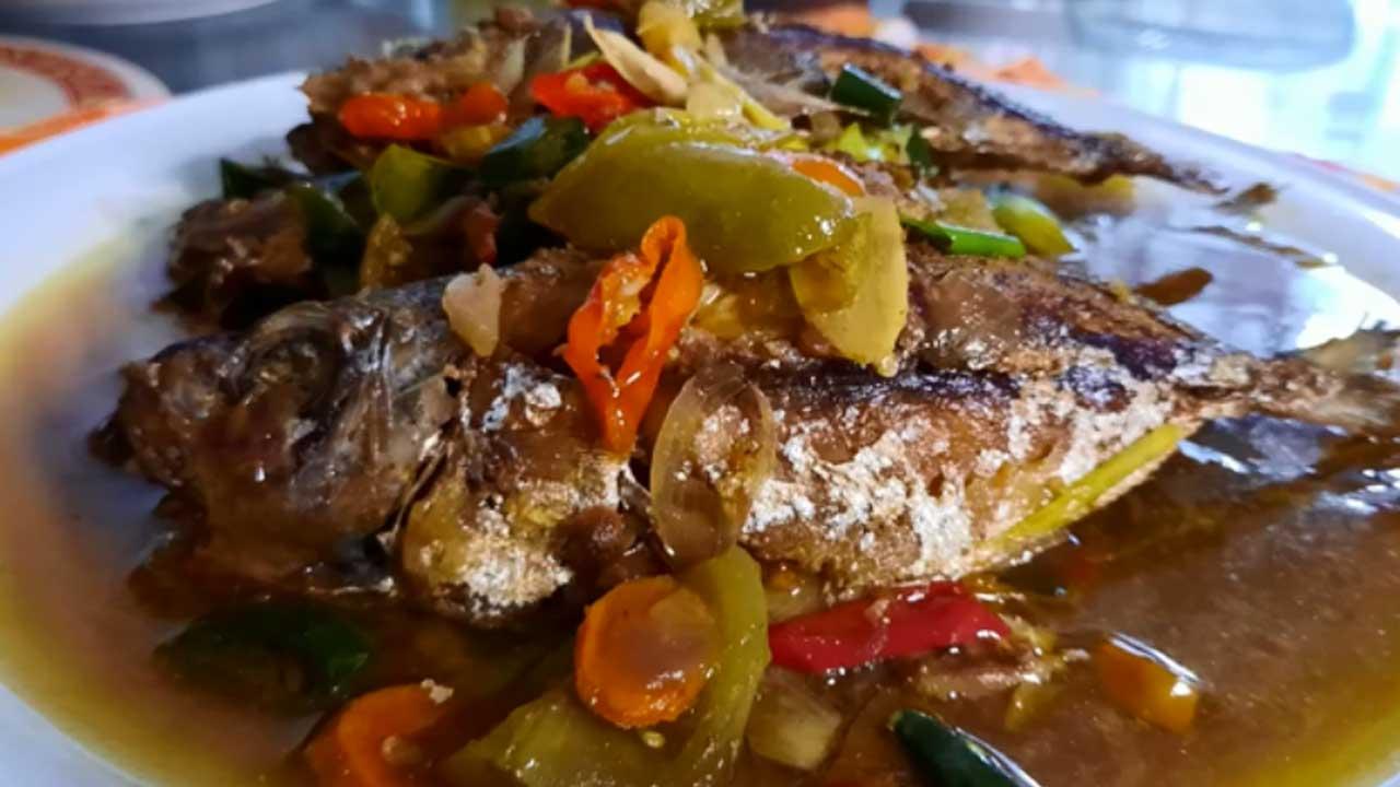 Resep Ikan Kembung Siram Bumbu Tauco