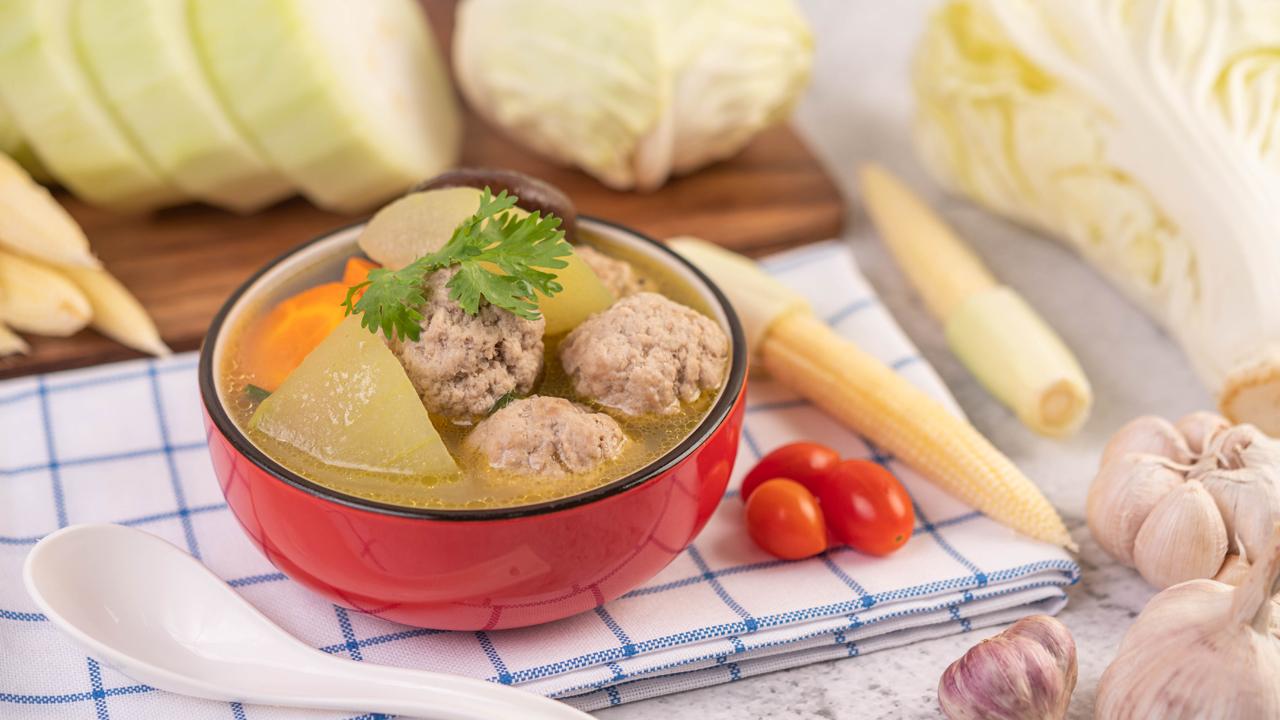 Resep Sup Bola Ayam