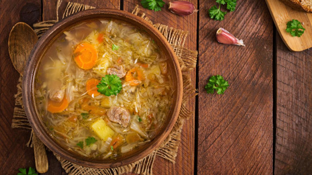Sup Campur Sambal Kecap
