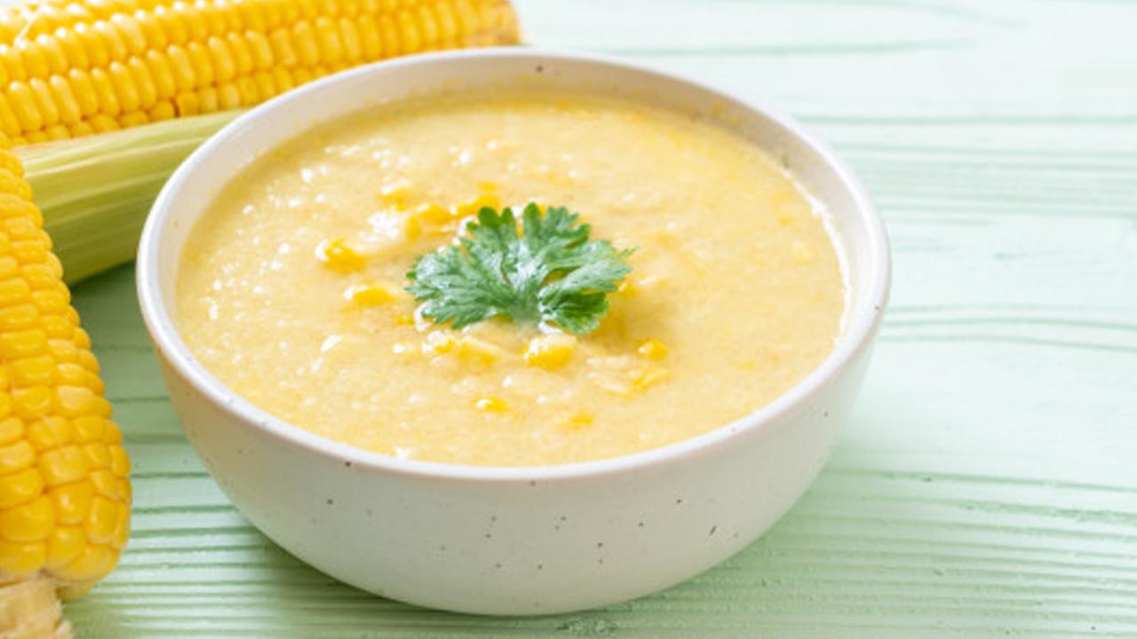 Cara Membuat Sup Jagung Halus