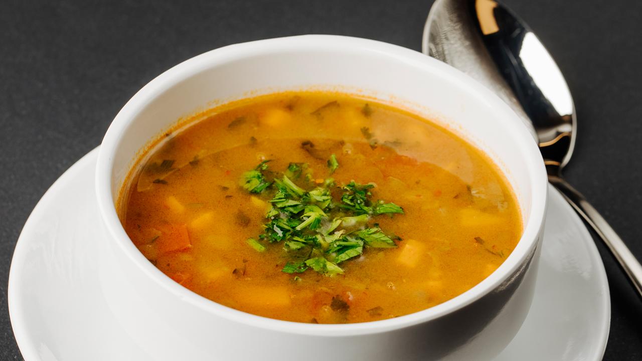 Sup Krim Labu Kuning Jamur